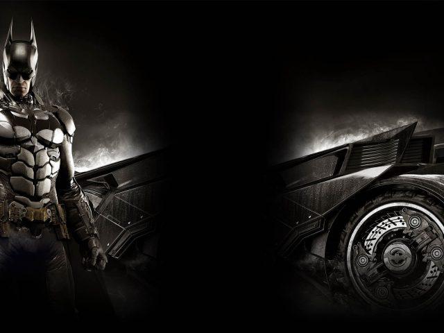Ограниченный выпуск Бэтмена Arkham рыцарь.