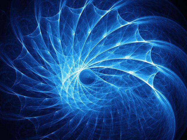 Голубые спирали