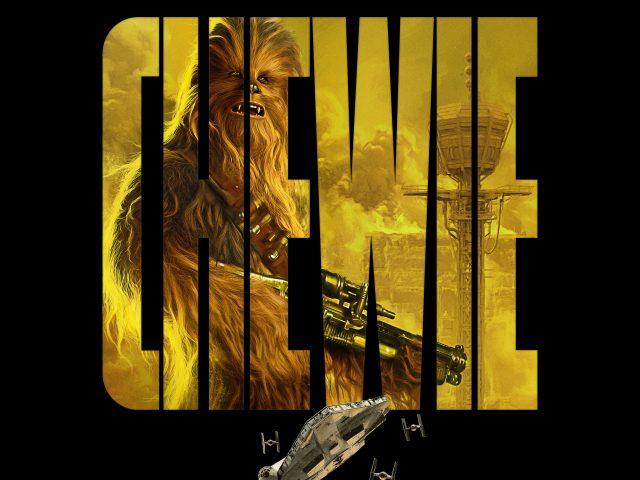 Chewie в соло история Звездных войн