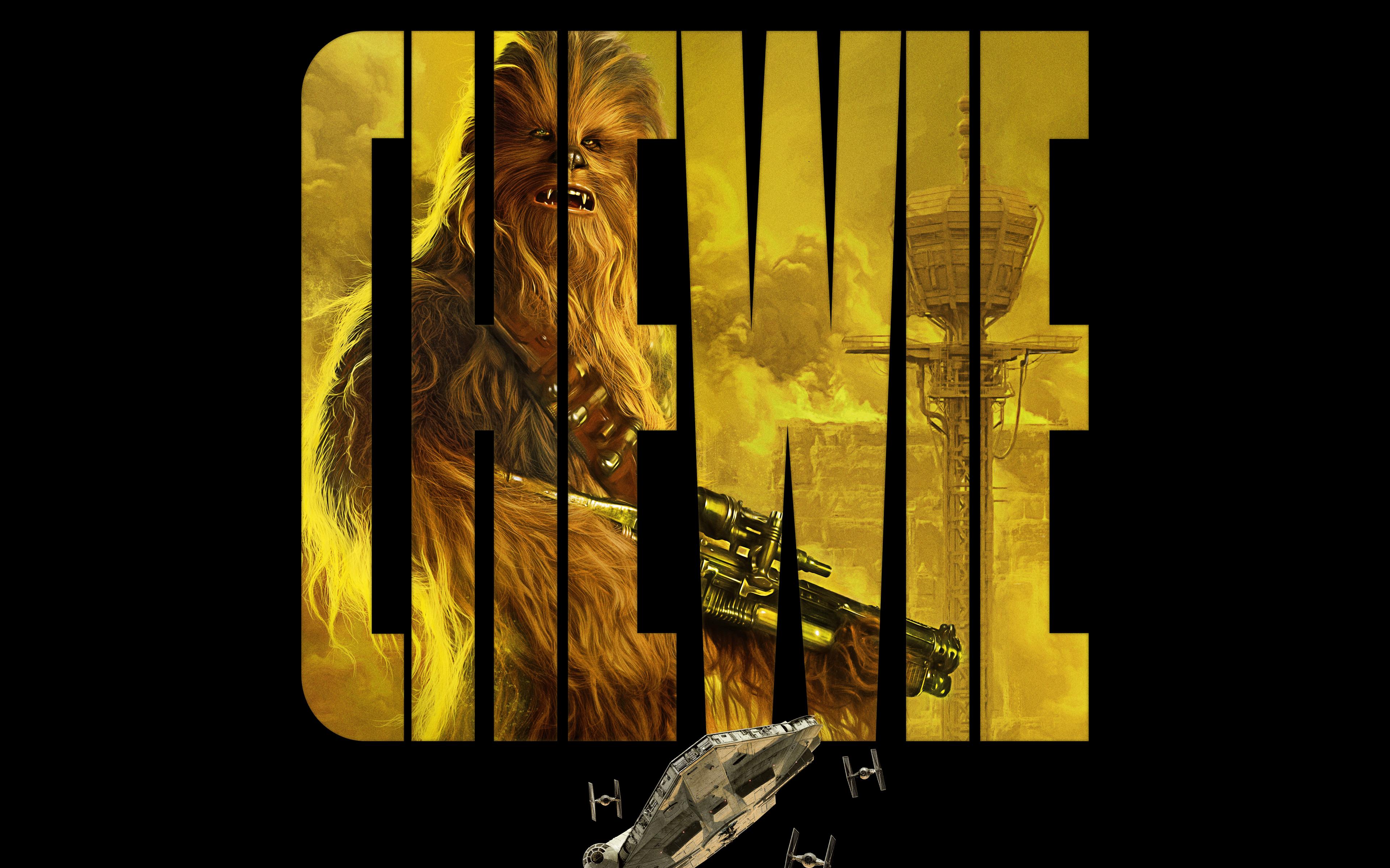 Chewie в соло история Звездных войн обои скачать