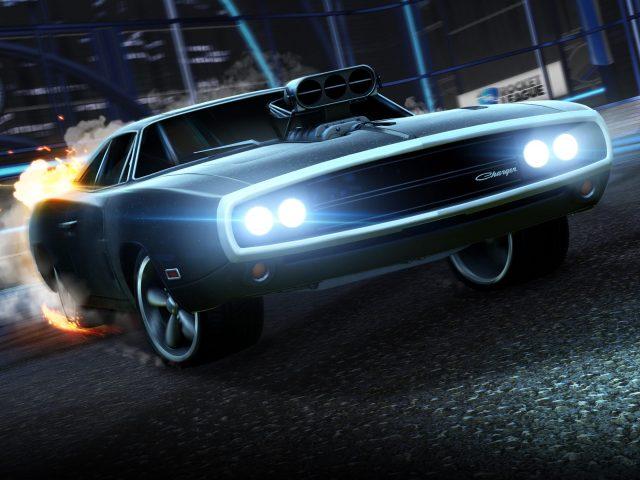 Dodge зарядное устройство в ракетной лиге