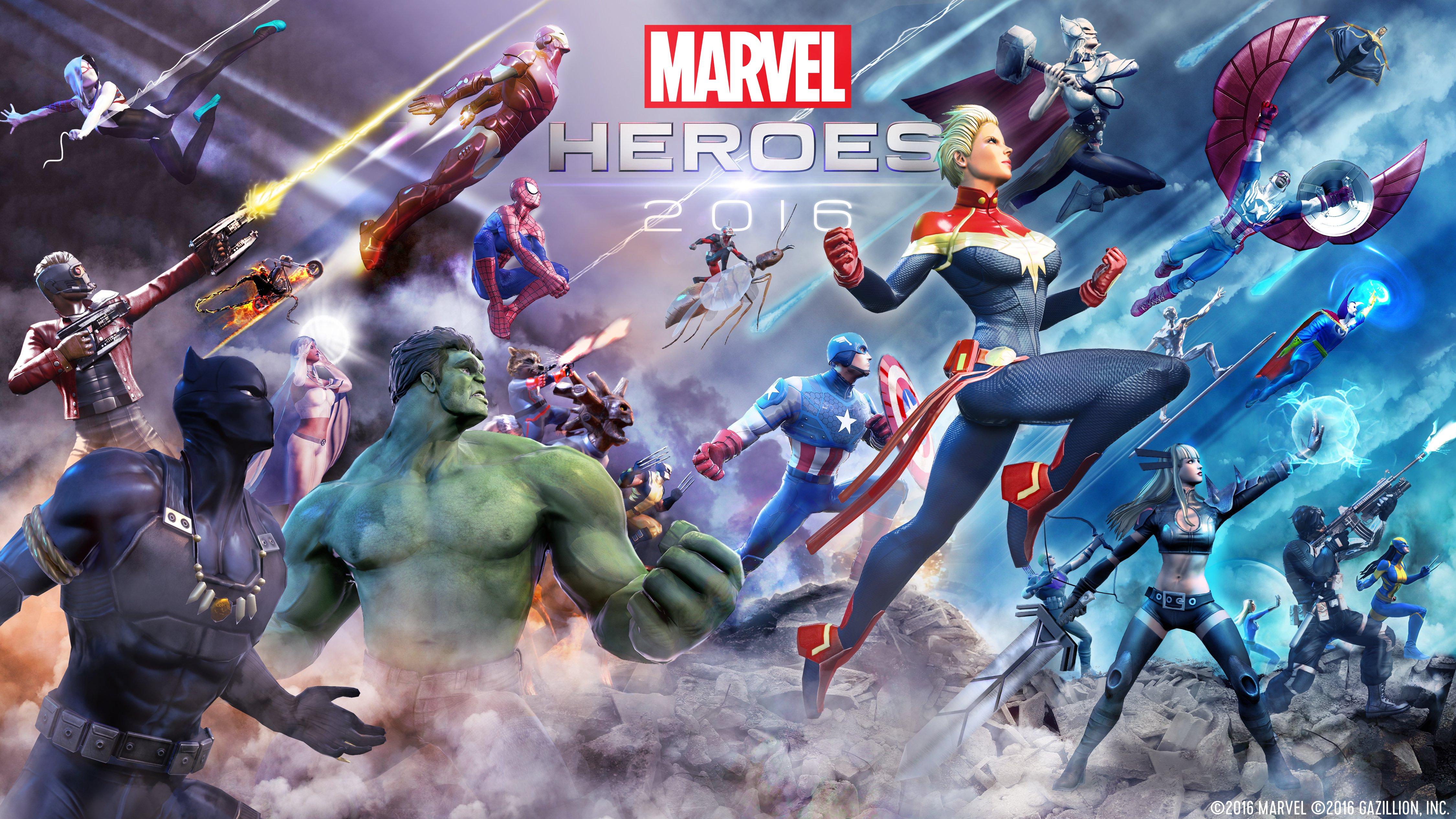 Marvel Heroes обои скачать