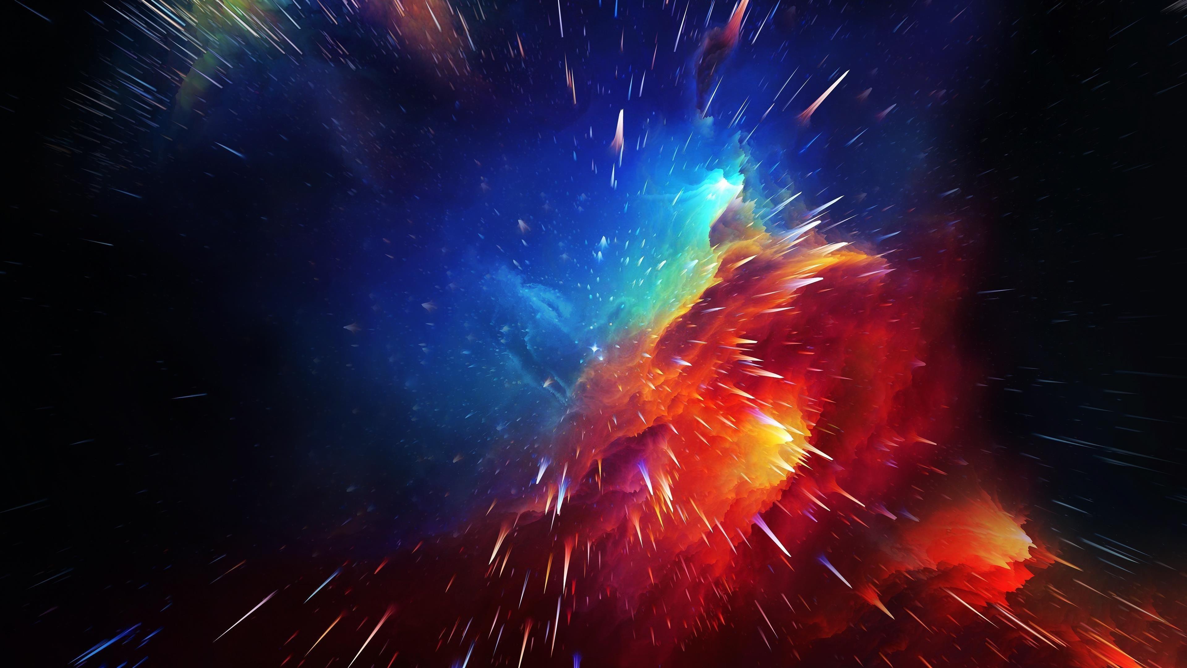 Космическая туманность обои скачать
