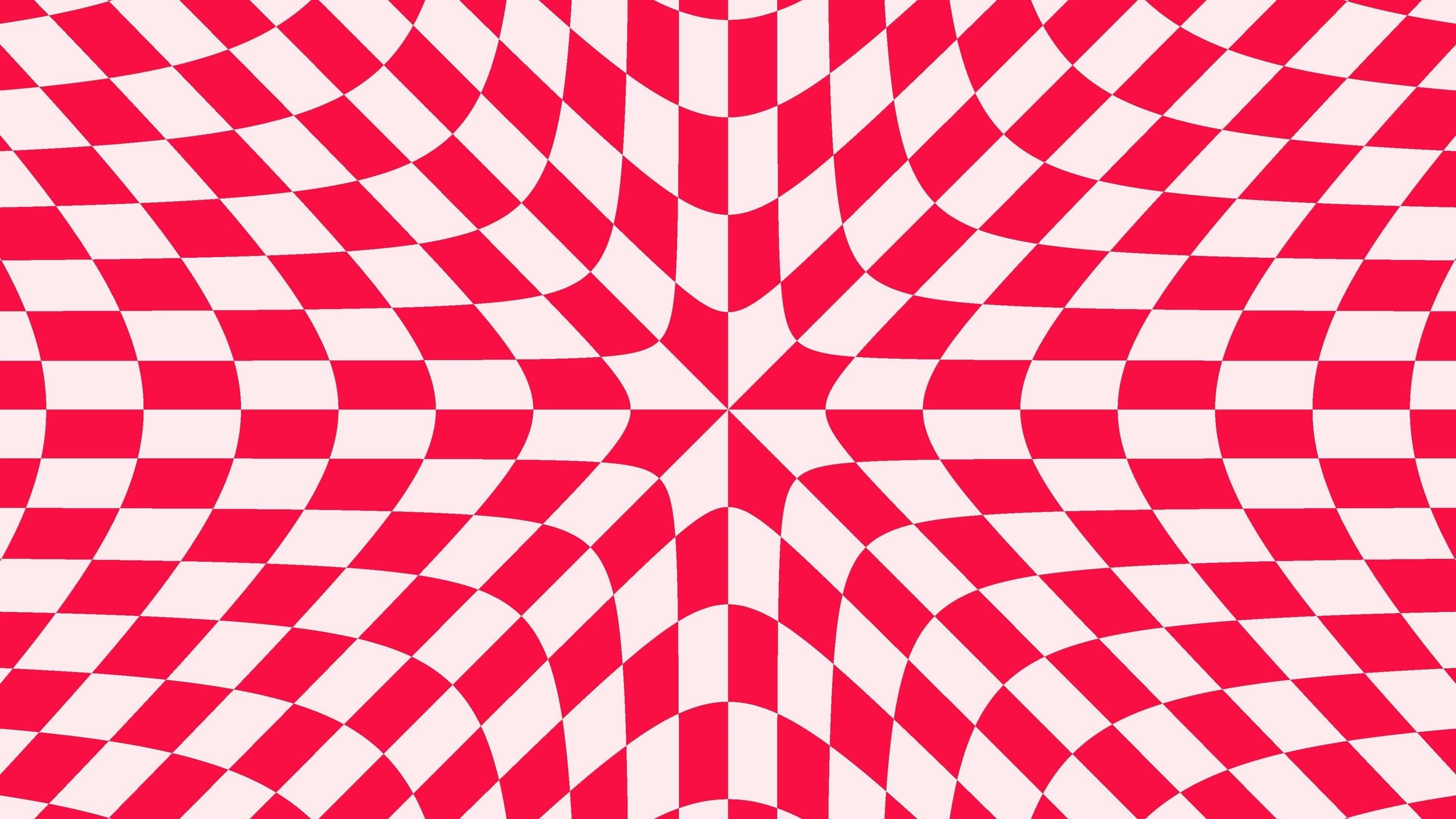 Красная иллюзия бесконечности обои скачать