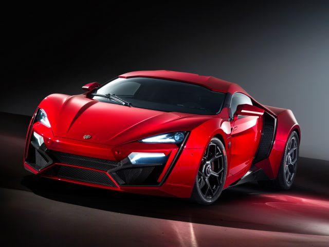 Модель lykan hypersport-автомобиль гиперкар