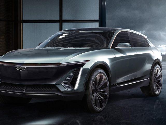 Cadillac ev concept 2019
