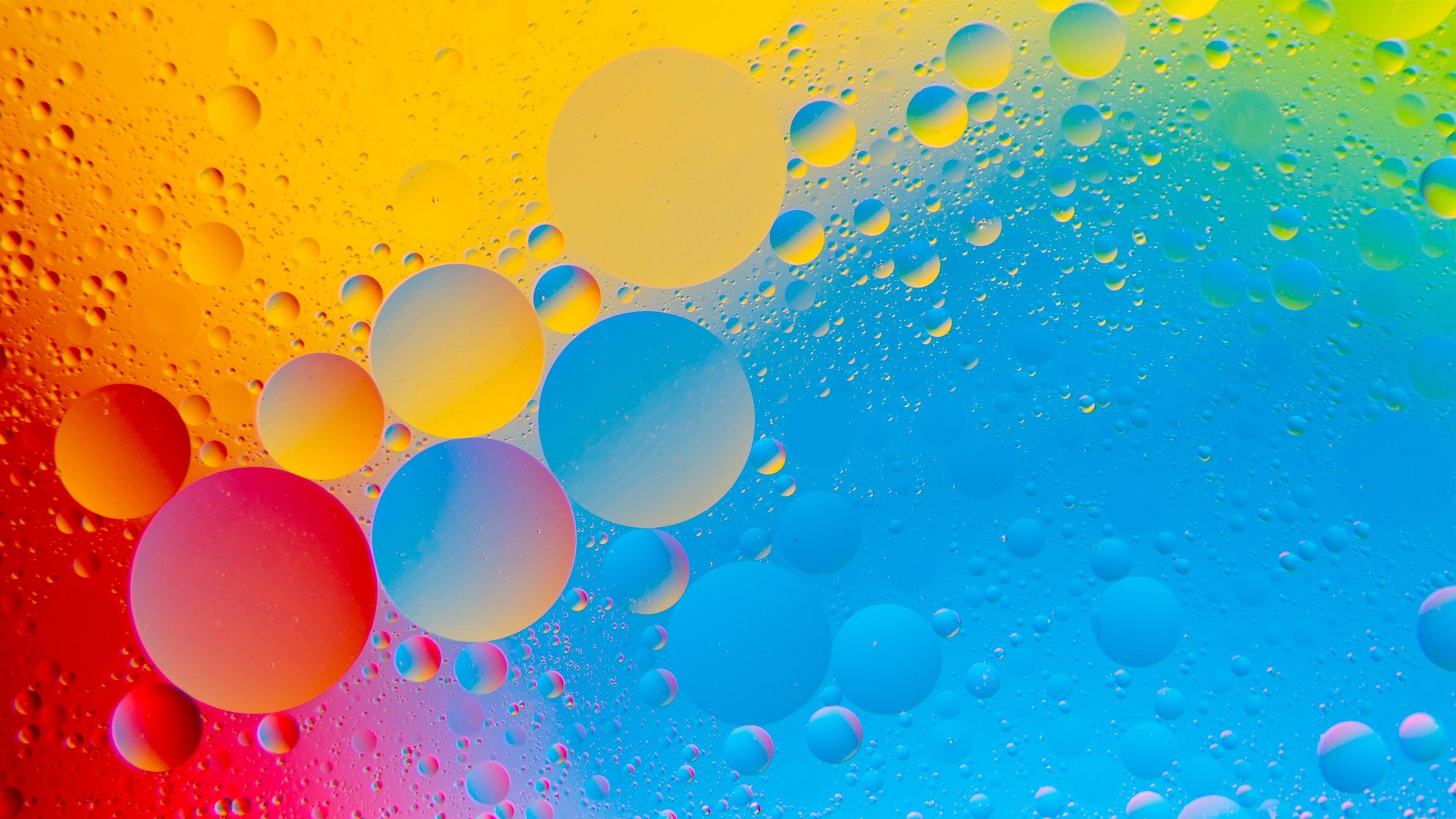 Красочные пузыри обои скачать