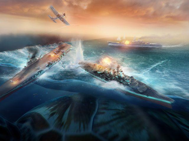 Мир боевых кораблей.