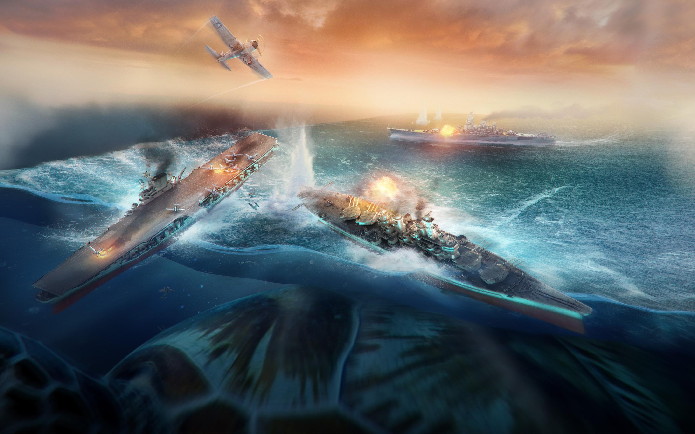 Мир боевых кораблей. обои скачать