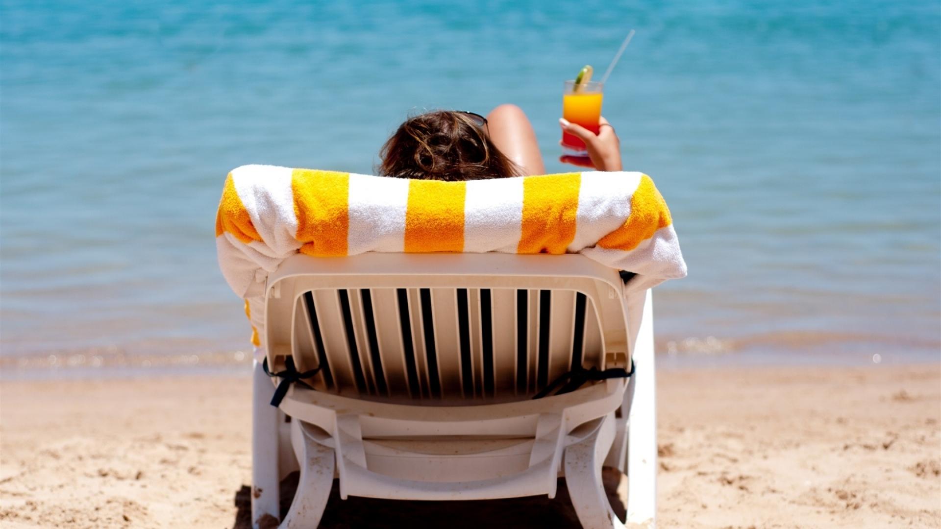Коктейль, стакан, море, песок обои скачать