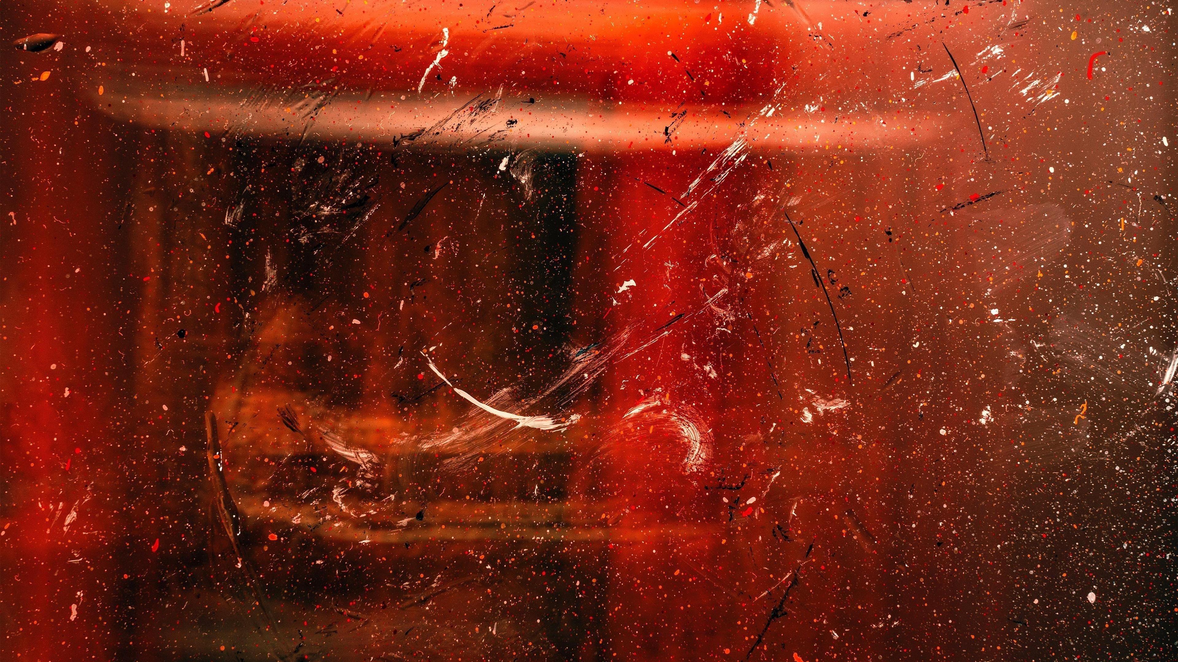 Абстрактная красная краска обои скачать