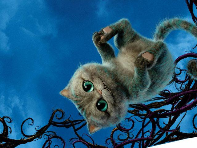 Чеширский кот Алиса в Зазеркалье.