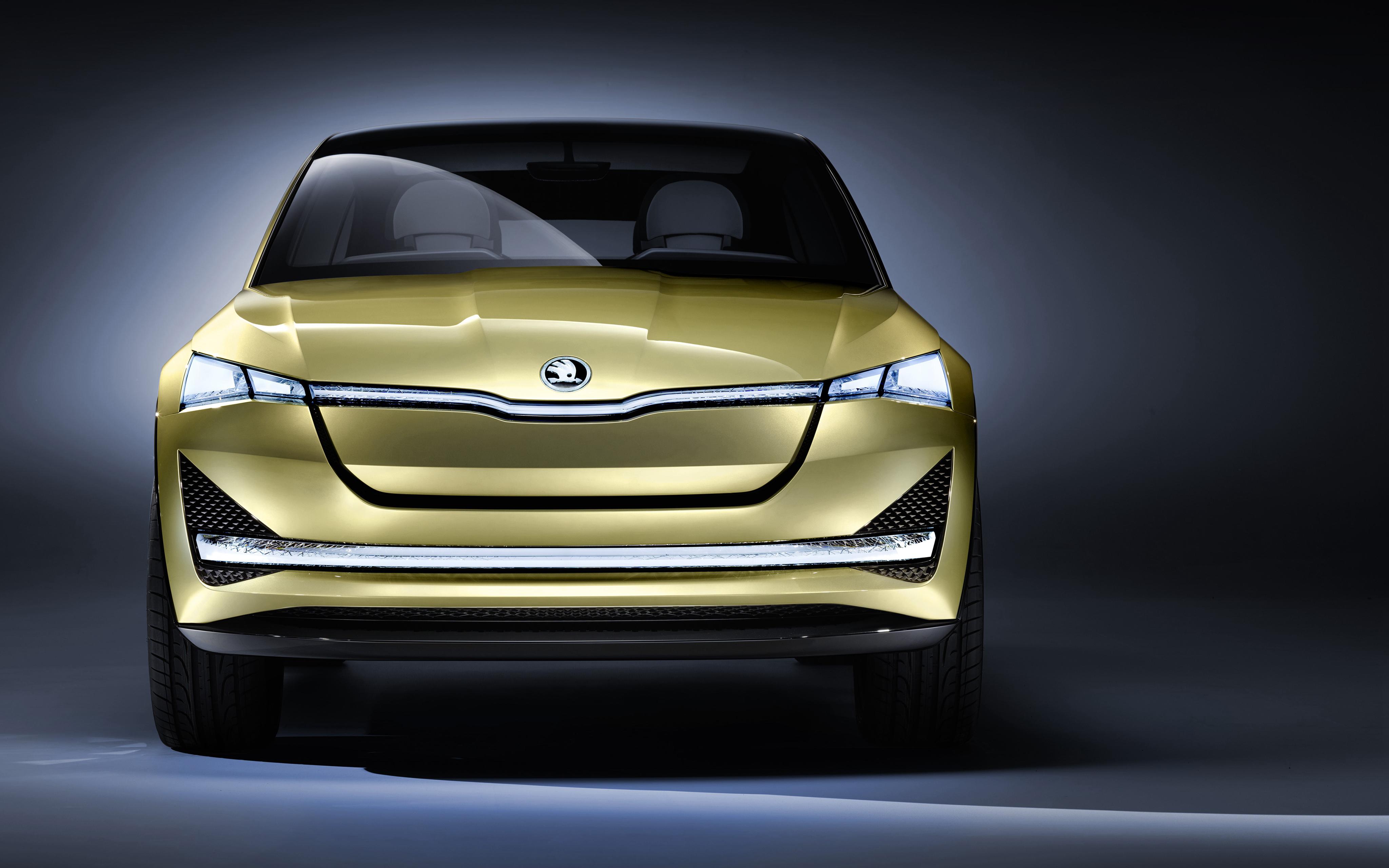 Шкода видение концепции электронного Франкфуртском автосалоне обои скачать