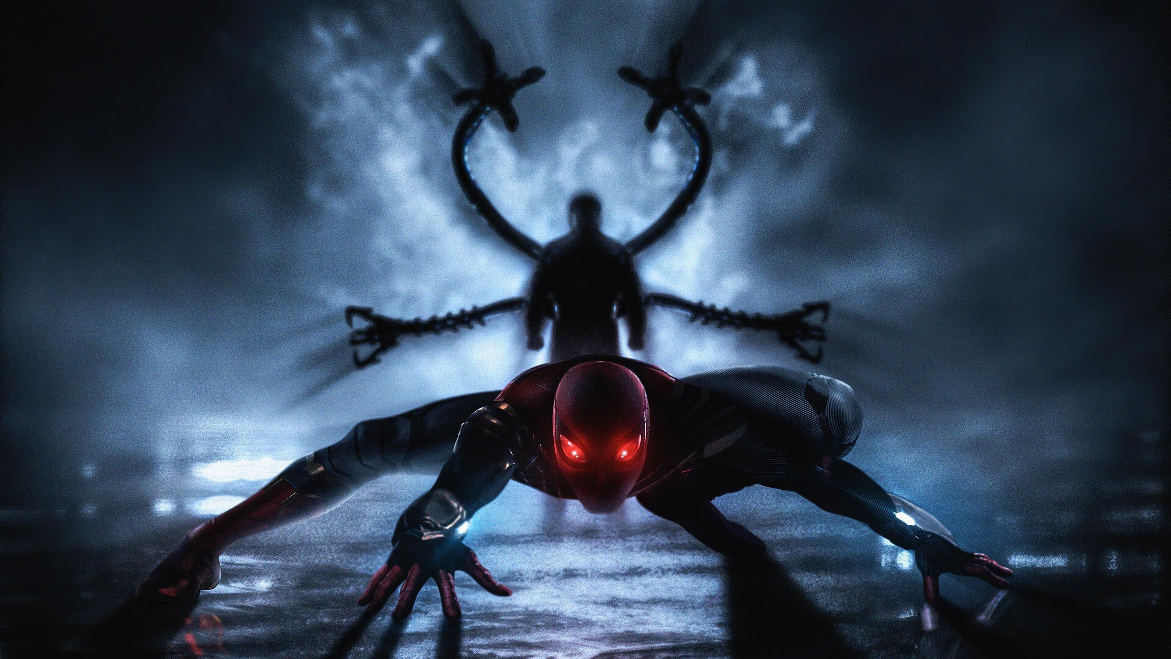 Человека-паука в Marvel, что если обои скачать