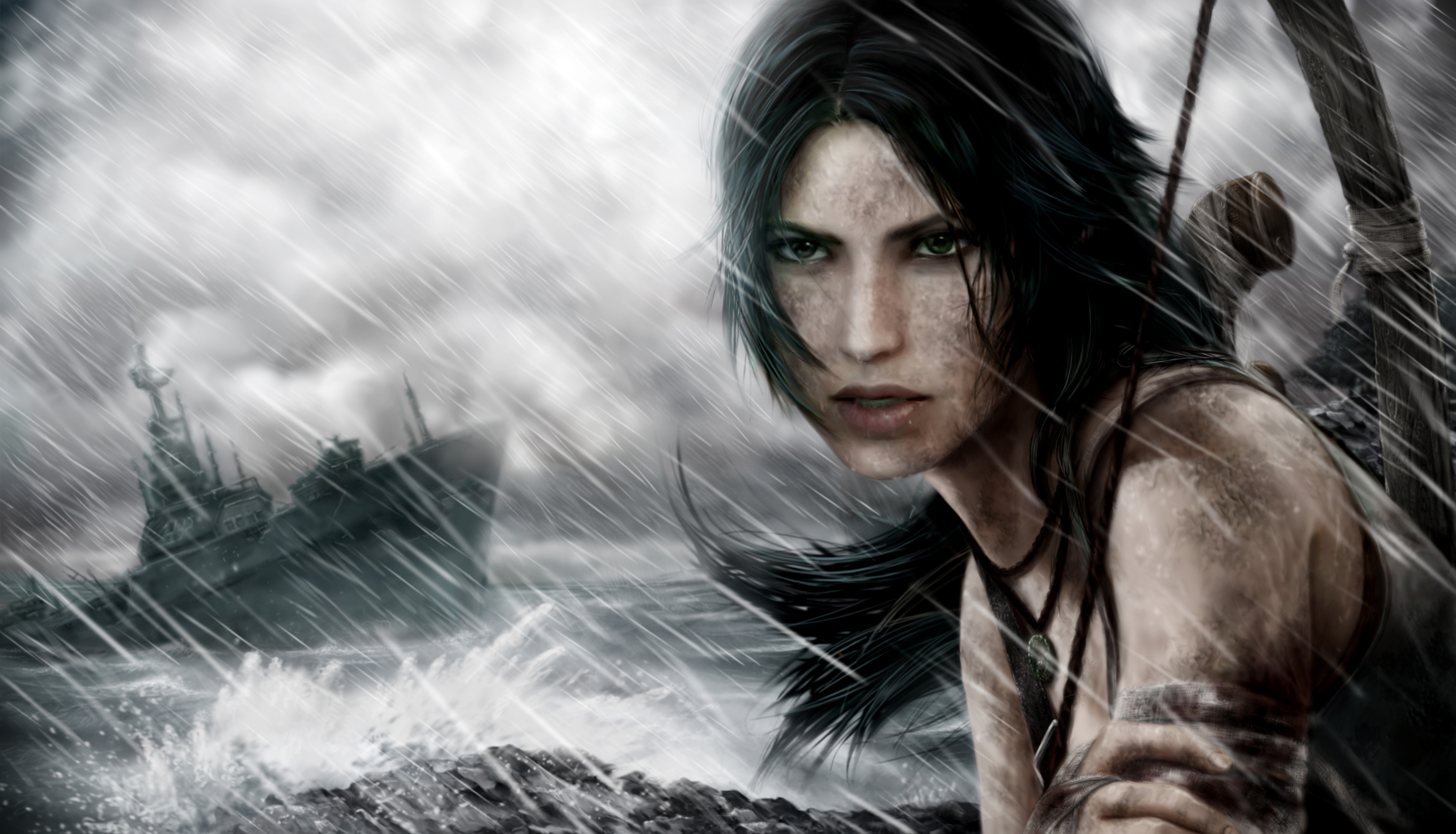 Lara Croft, Tomb Raider, лара крофт, игра обои скачать