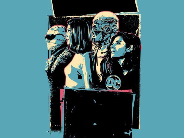 Плакат Doom patrol 2