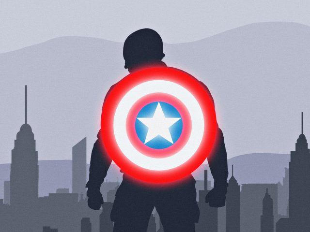Работа Капитана Америки