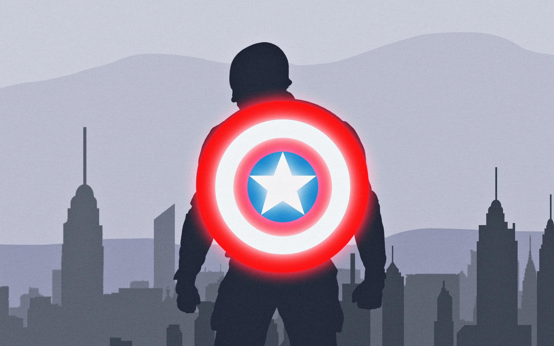 Работа Капитана Америки обои скачать