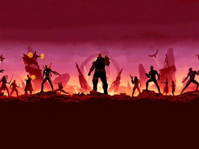Мстители бесконечность войны супергероев