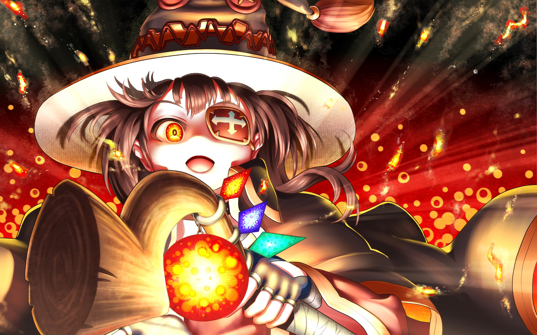 Megumin аниме. обои скачать