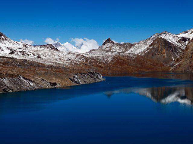 Tilicho озера Непал.
