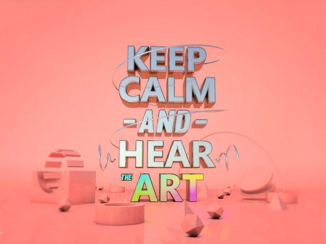 Сохраняйте спокойствие слышать