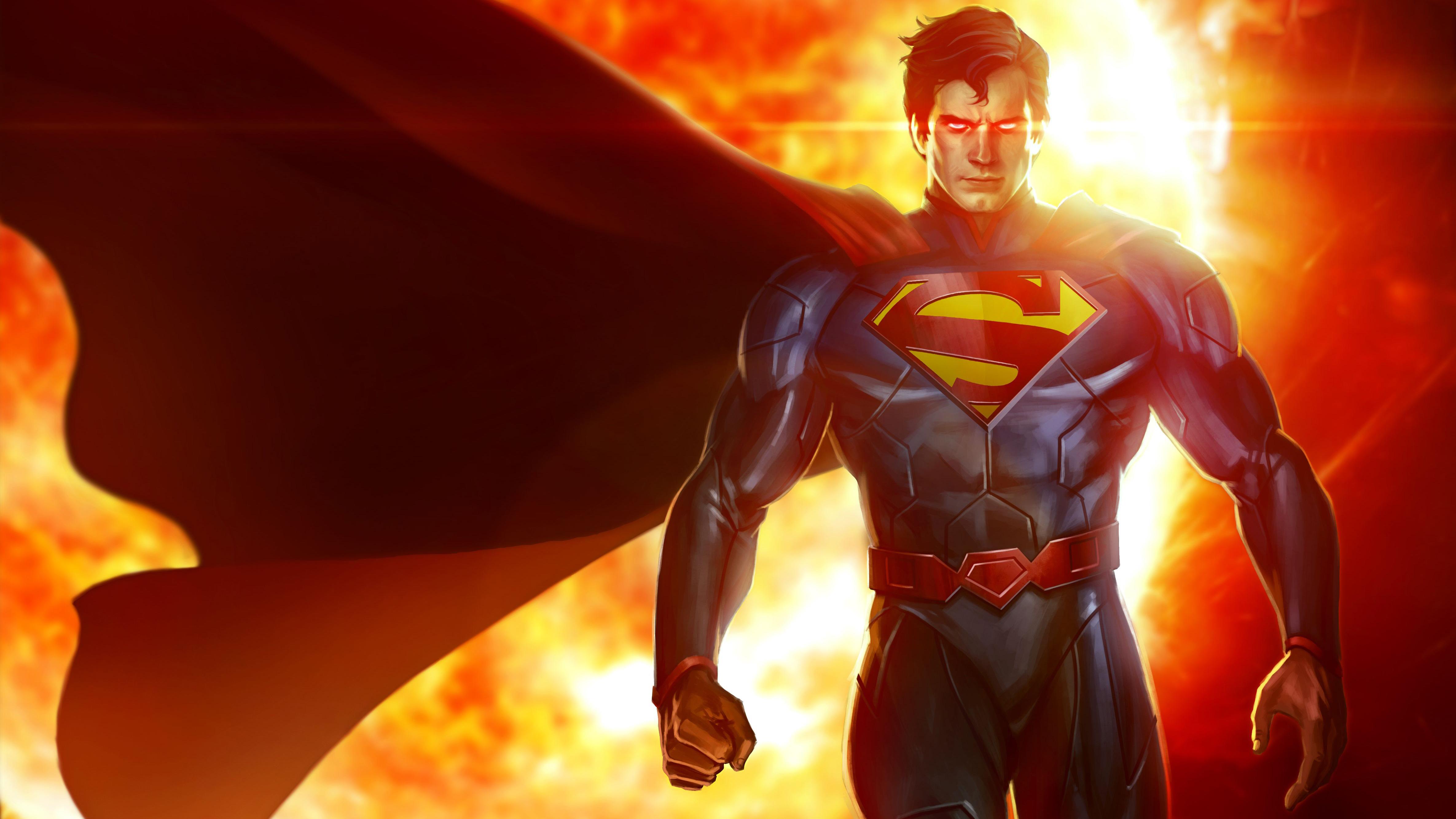 Супермен искусства обои скачать