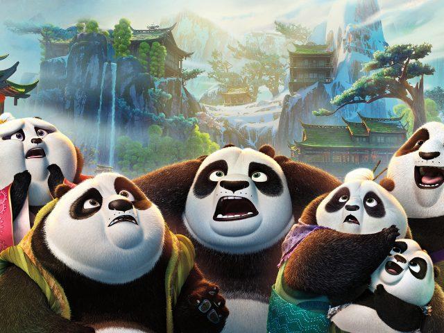 Кунг-фу Панда 3 семьи по.