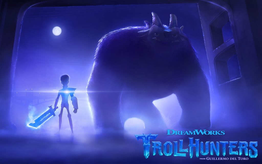 Trollhunters анимации. обои скачать