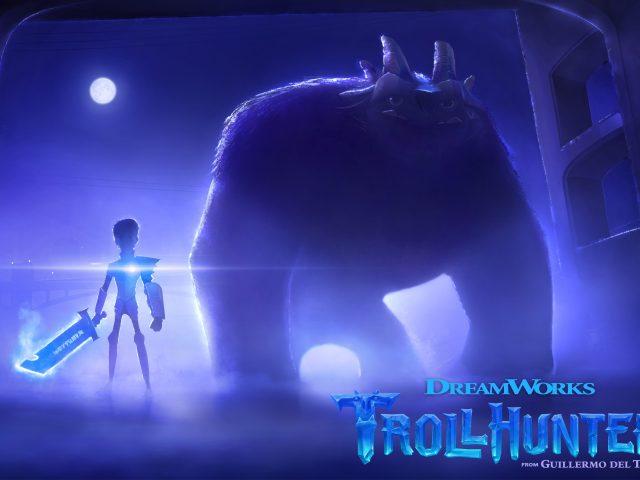 Trollhunters анимации.