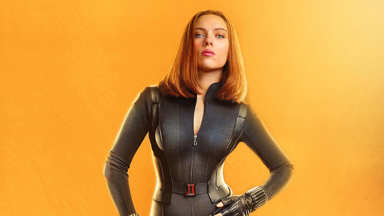 Скарлетт Йоханссон в роли Черной Вдовы в avengers infinity war обои скачать