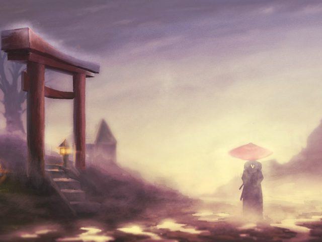 Samurai champloo,  jin,  туман,  пейзаж