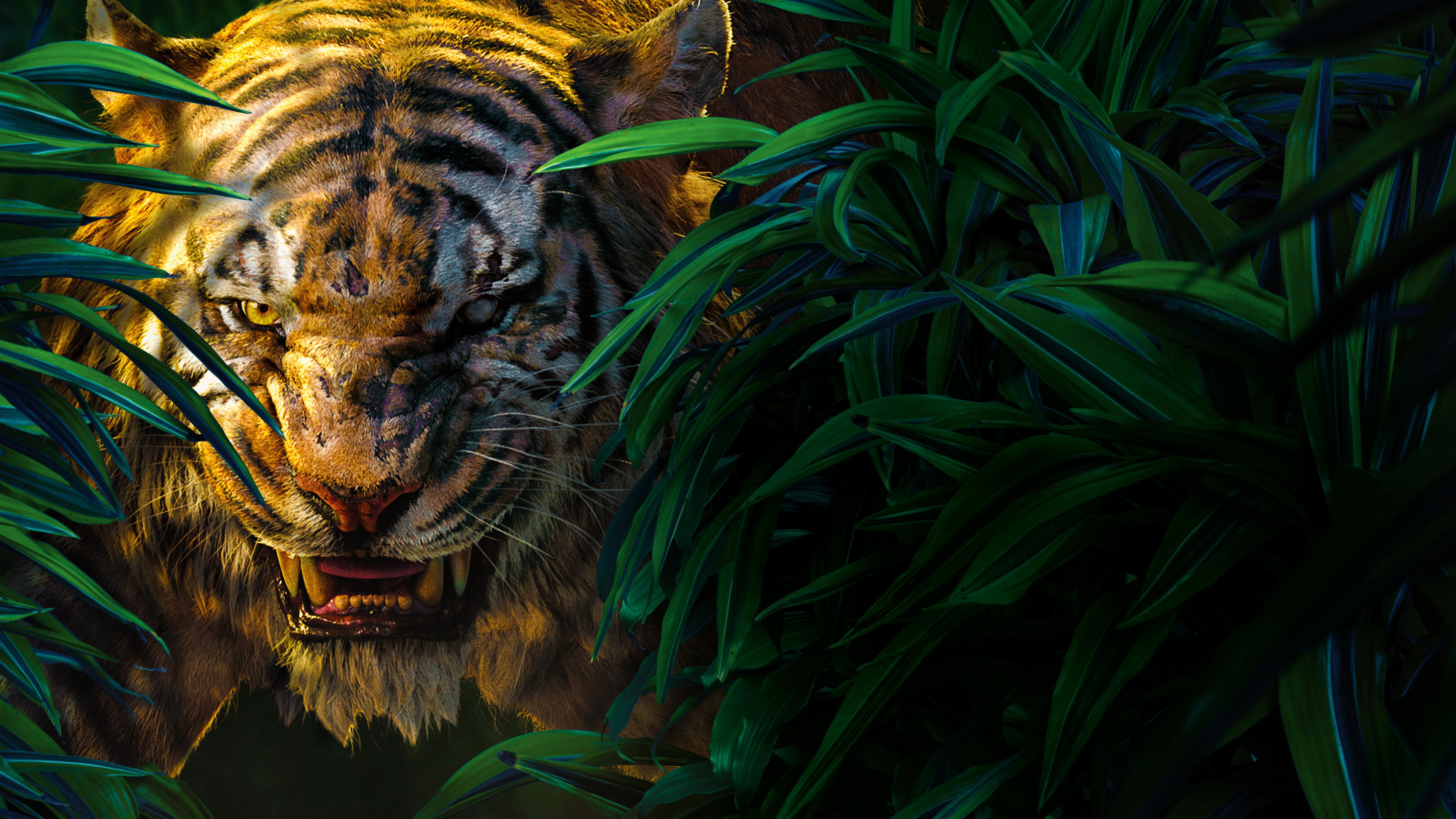 Книга джунглей Шер. обои скачать