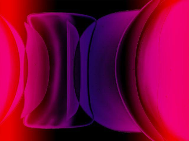 Красные абстрактные новые формы