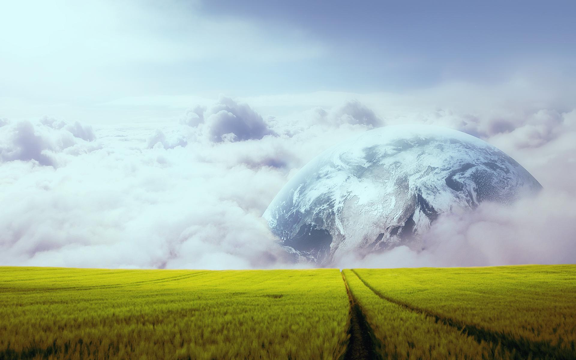 Фермы поля планеты обои скачать