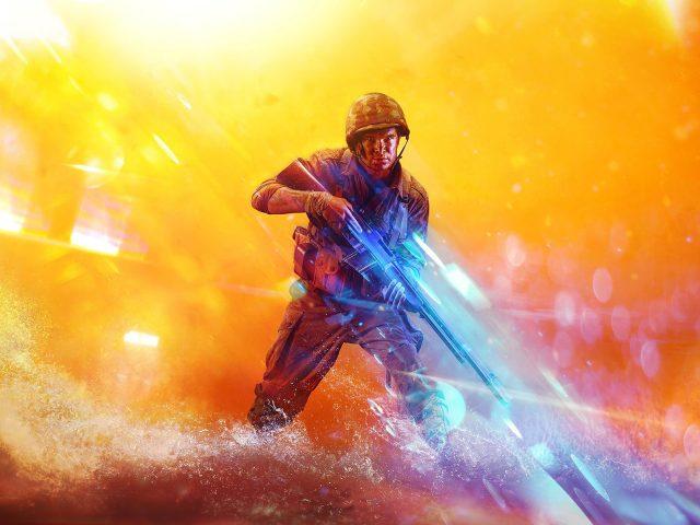 Battlefield 5 солдат
