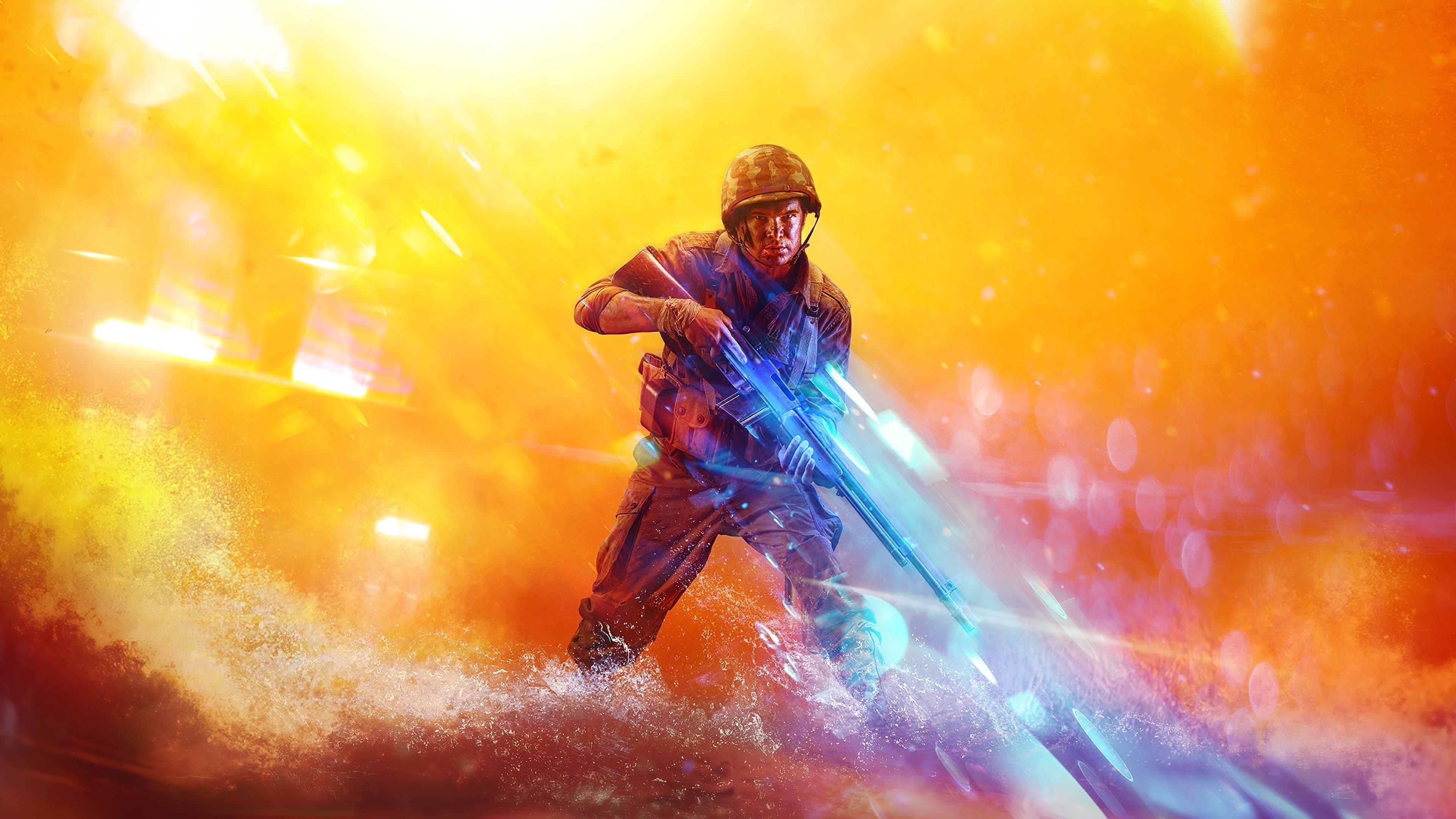 Battlefield 5 солдат обои скачать