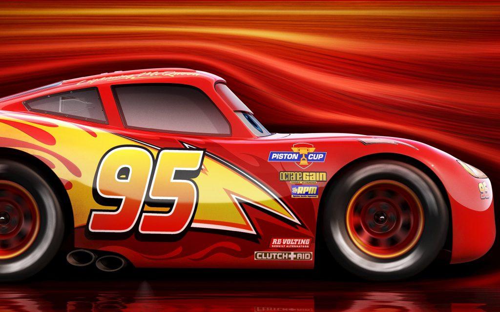 Lightning mcqueen cars 3. обои скачать