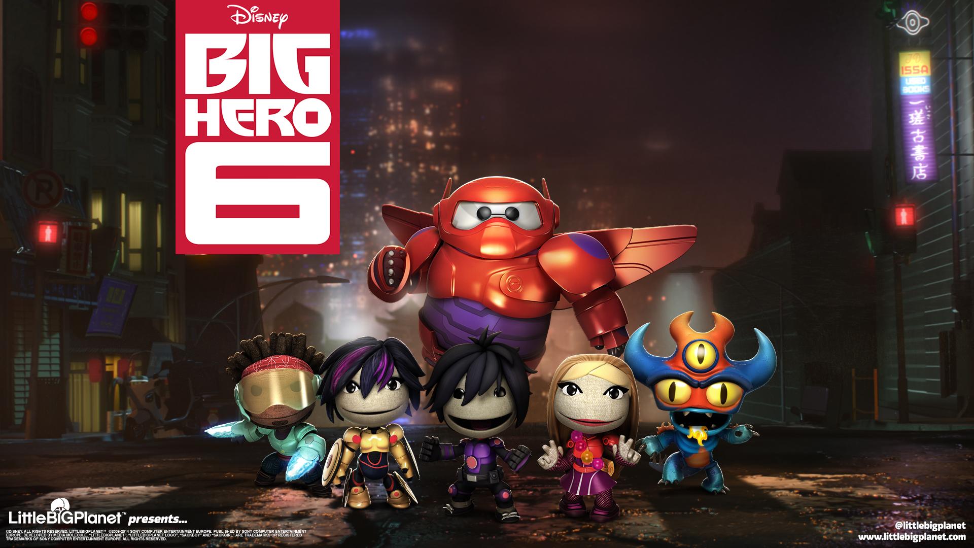 В LittleBigPlanet 3 большой герой 6 обои скачать