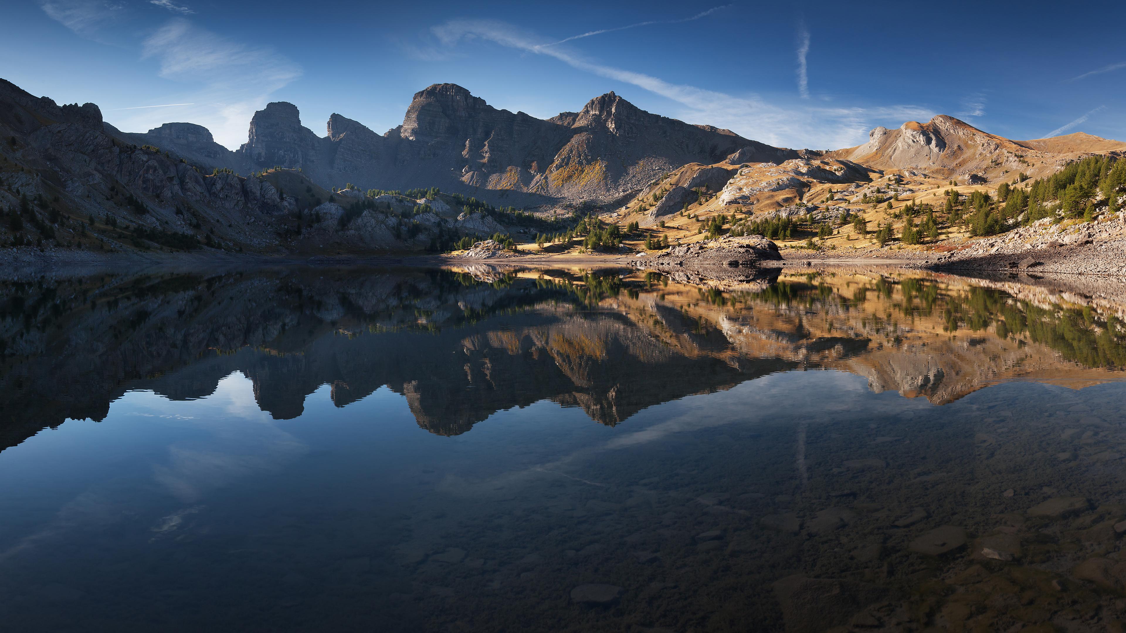 Озеро в национальном парке Меркантур обои скачать