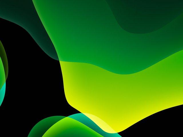 Ios 13 ipados зеленый темный режим