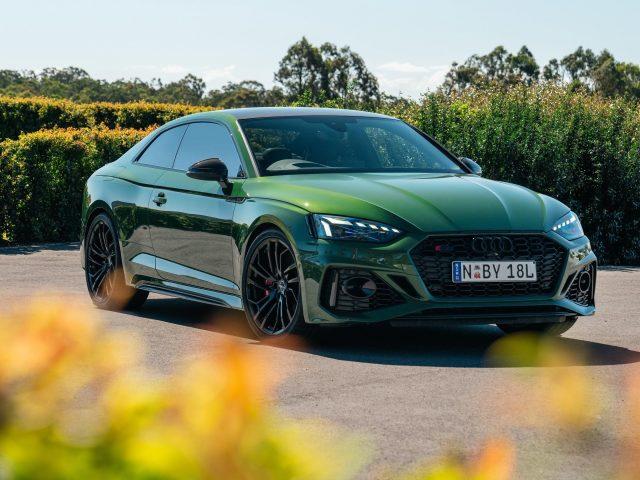 Audi green rs 5 coupé 2020 автомобили