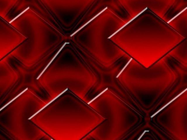 3d красные кубики геометрические фигуры абстрактные