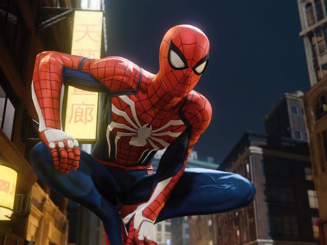 Человек-паук ps4 игры