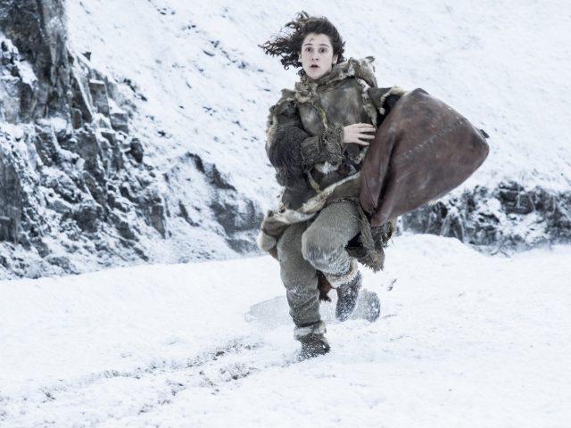 Игра престолов снежная девушка бежит