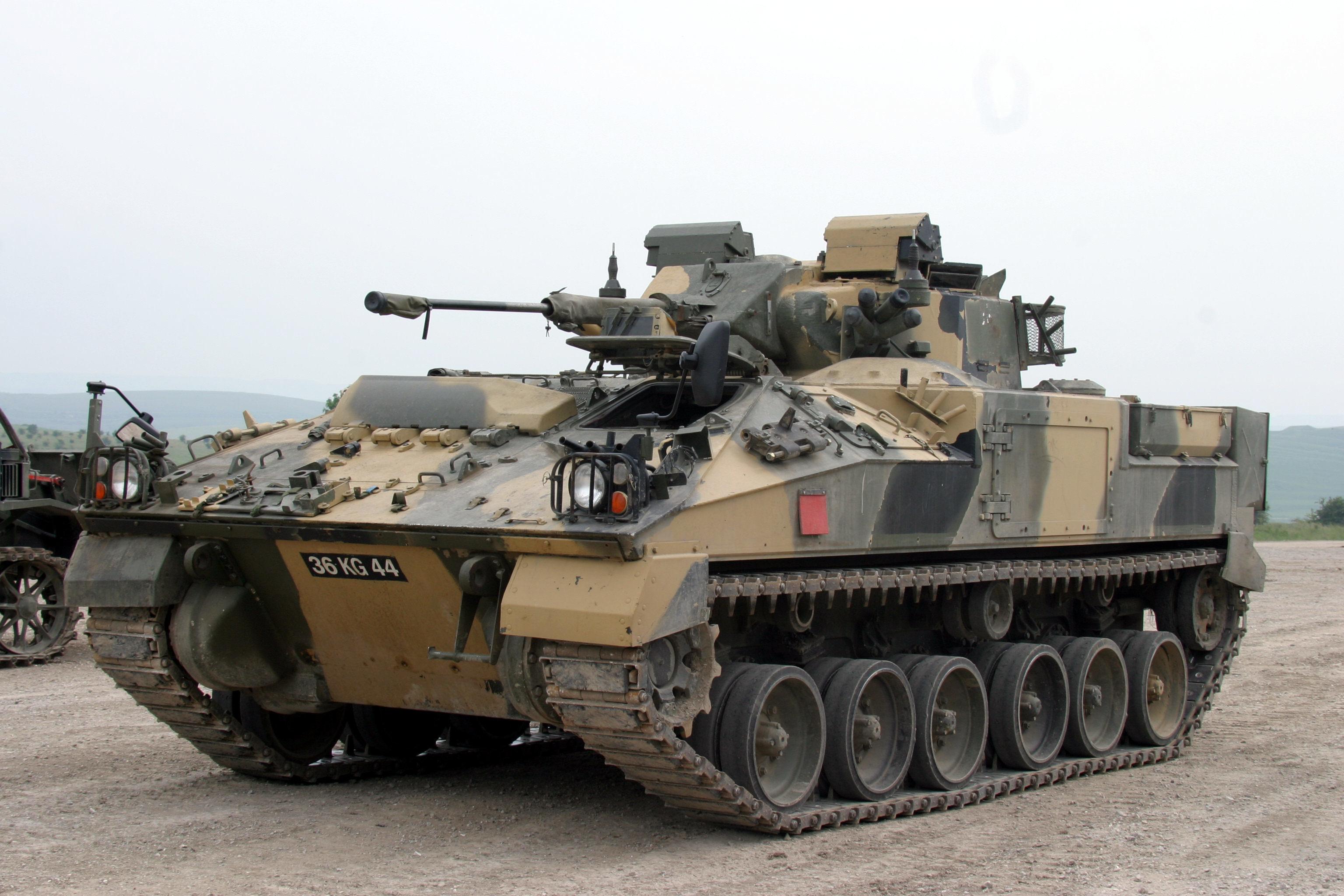MCV 80 Warrior обои скачать