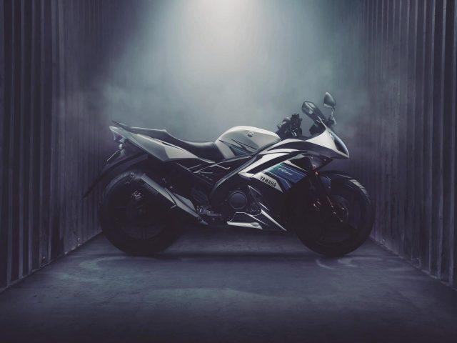 Yamaha r15 спортивный велосипед