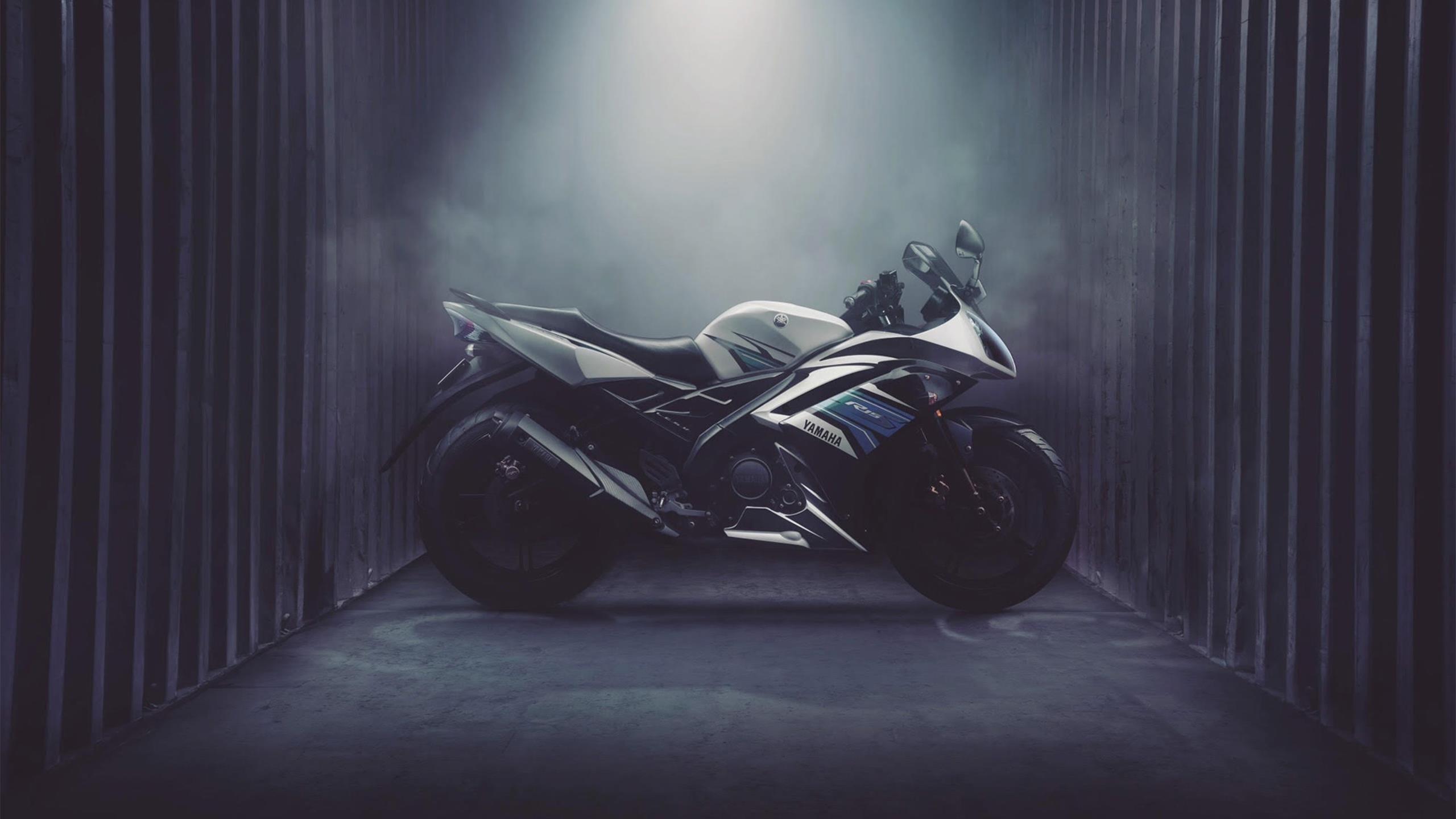 Yamaha r15 спортивный велосипед обои скачать