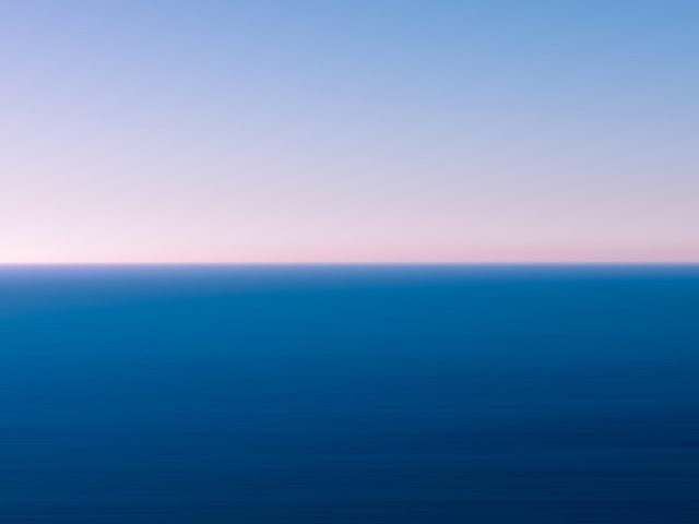 Морской пейзаж горизонт