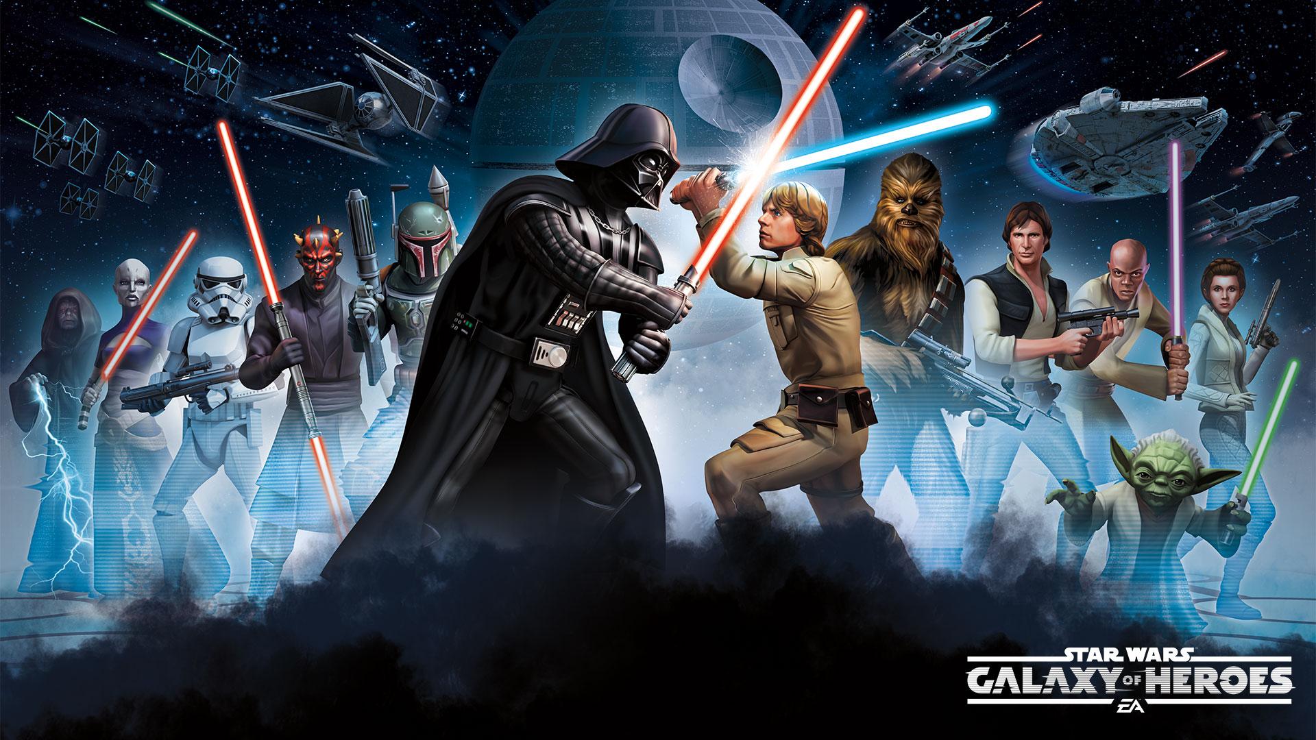 Звездные войны Галактика героев. обои скачать